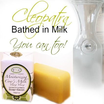 Moisturizing Milk Bath Products.. good enough for Cleopatra, fantastic for you!