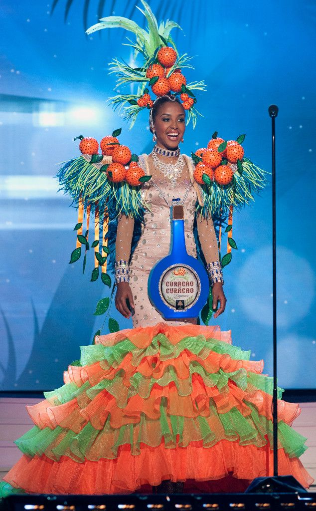 Miss Curaçao from 2014 Miss Universe National Costume Show | E! Online