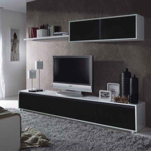 ensemble mural tv adis prix promo meuble tv 3 suisses meubles pas cher pinterest. Black Bedroom Furniture Sets. Home Design Ideas
