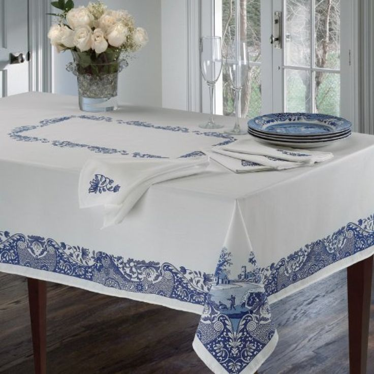 Spode Plateau Linens Italian Tablecloth