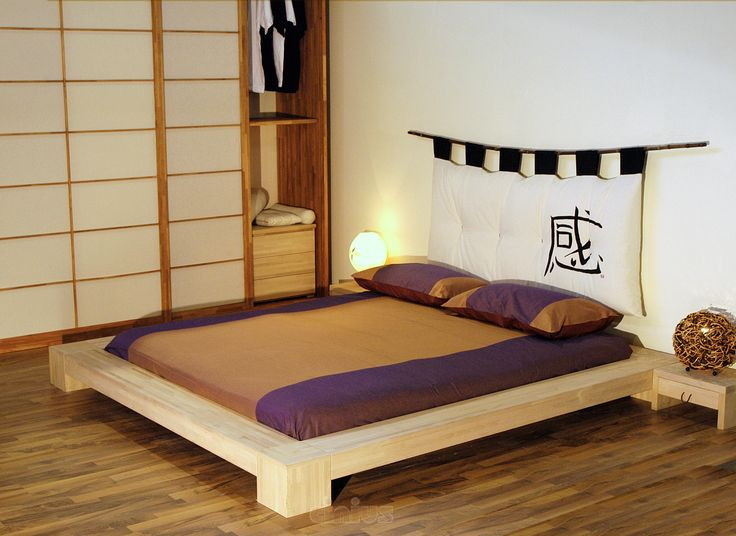 111 best images about letti bed on pinterest low beds - Letto giapponese tatami ...