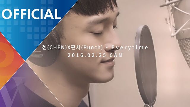 첸 CHEN X 펀치 Punch Everytime l 태양의 후예 OST Lyrics Bahasa Indonesia