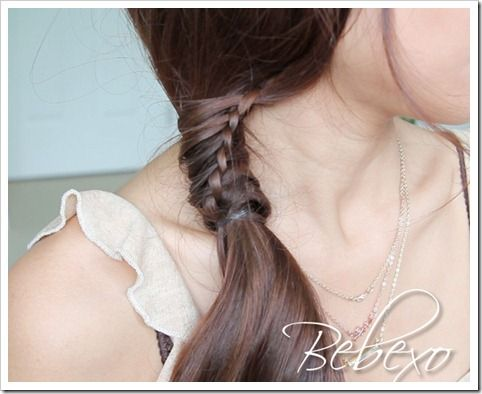 Just learned how to do this!!! Had to get a picture to show, very excited! #ChineseStaircaseBraid
