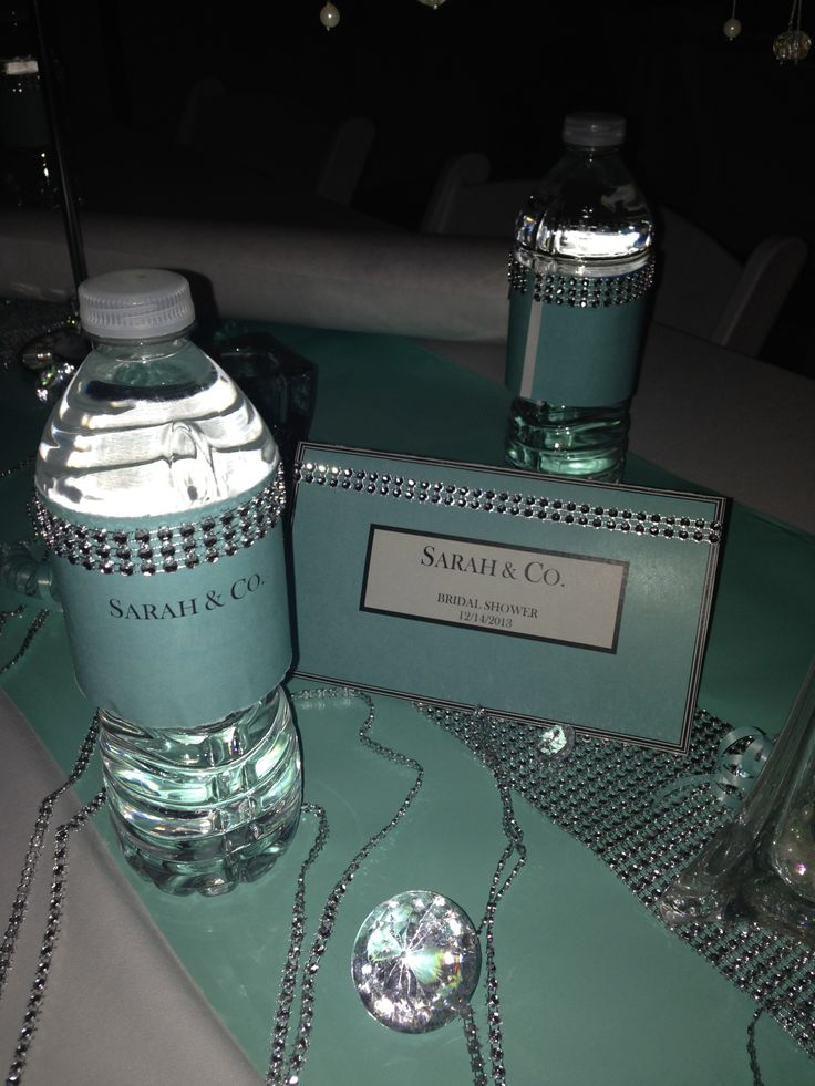 Tiffany Amp Co Themed Bridal Shower Cousin Sarah S