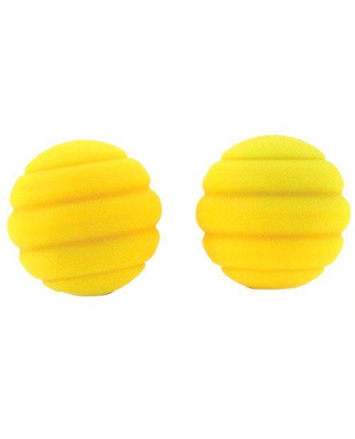 Maia Samantha Twistty Silicone Kegel Balls [Confetti/Neon Yellow]
