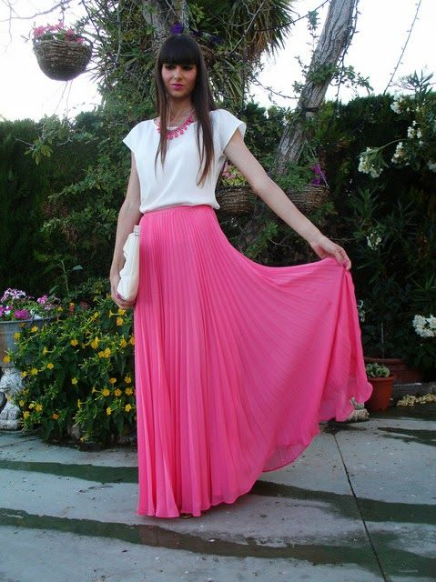 Faldas largas de temporada   Colección 2014                                                                                                                                                                                 Más