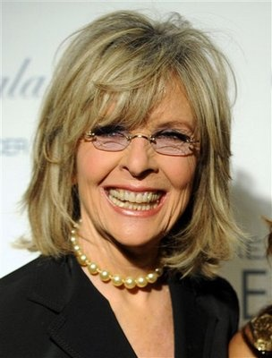 "Diane Keaton, 66  Diane Keaton is a picture of perfection at 66-years-old. The ""Annie Hall"" actress opposes plastic surgery, so her good looks are all thanks to genetics. Some people get all the luck."