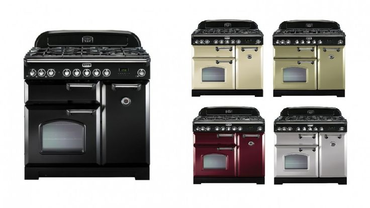 Falcon Classic Deluxe 90cm Dual Fuel Freestanding Cooker - Chrome Fittings - Freestanding Cookers - Appliances - Kitchen Appliances | Harvey Norman Australia