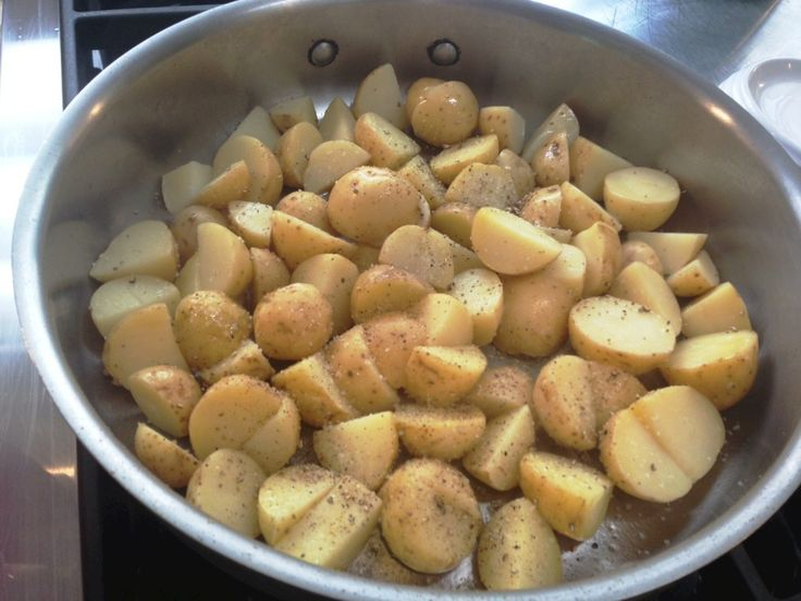 Bluesky Kitchen shows you How to Make Crispy Salt-and-Pepper Potatoes