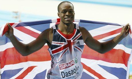 James Dasaolu returns to 100m in Glasgow eager to improve on fine 2013