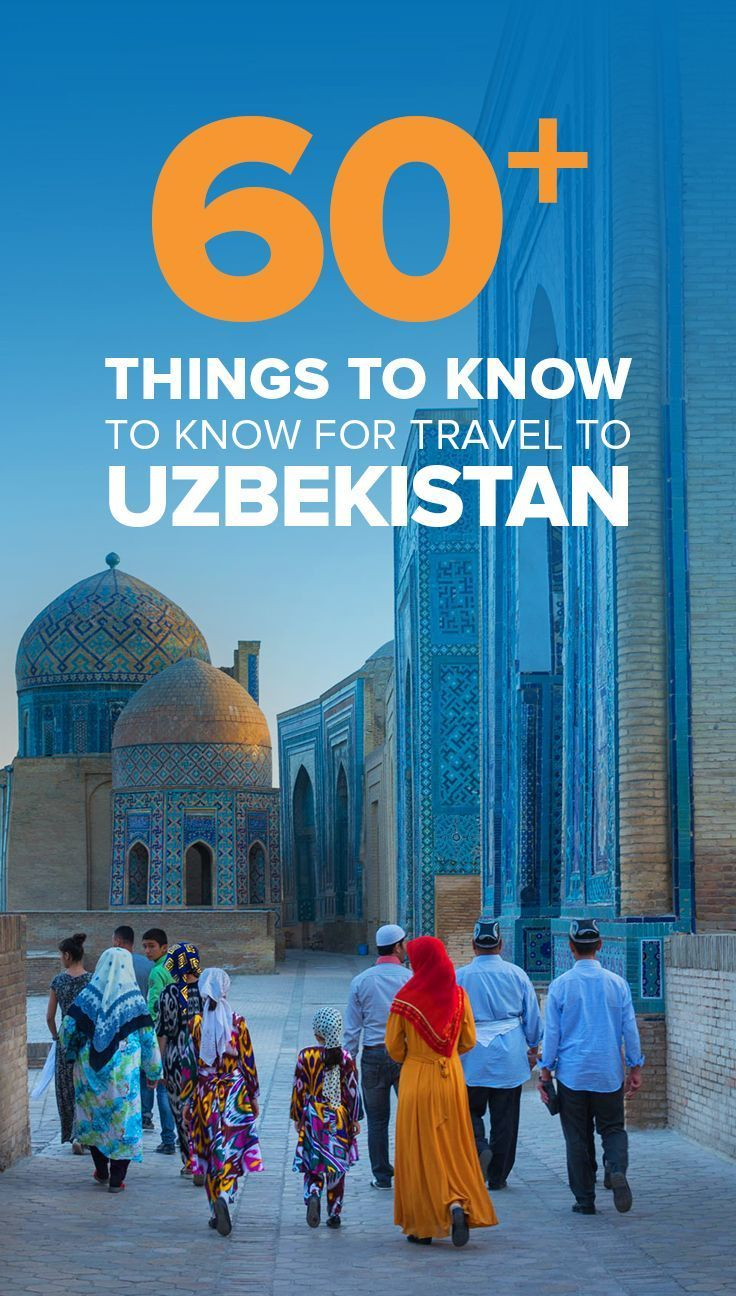 Travel to Uzbekistan in Central Asia can seem intimidating, but with the right preparation, you'll have no problem. Here's a list of things you should know before traveling to Uzbekistan. A must-read for anyone interesting in traveling the Silk Road, or e