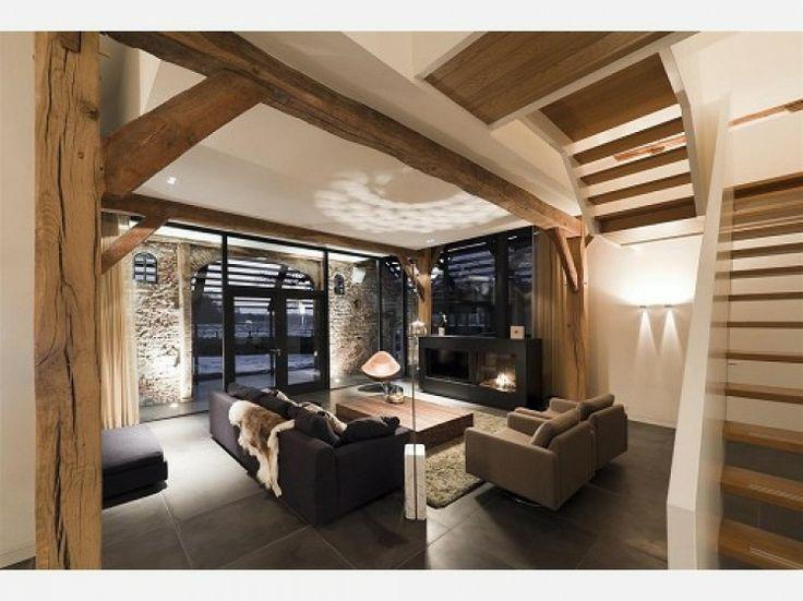 25 beste idee n over stenen muren op pinterest nep stenen muren stenen buitenkant en nep - Interieur decoratie stenen huis ...