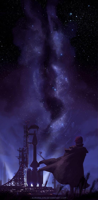 301 Best Anime Night Sky Images On Pinterest
