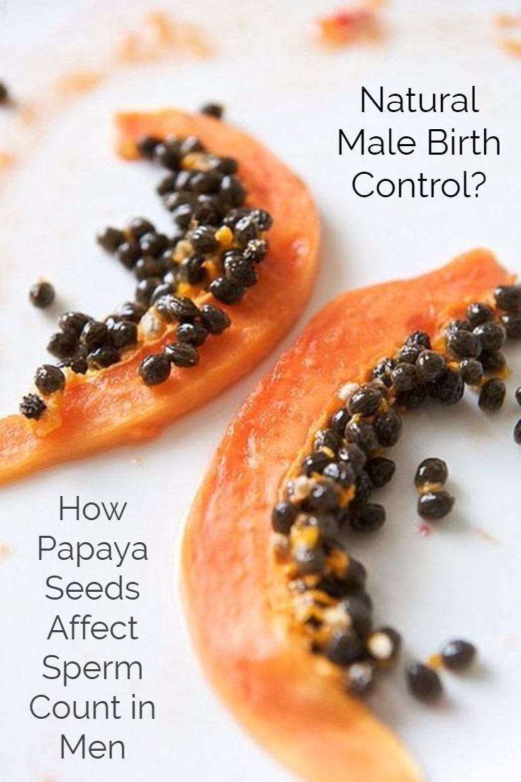Ahead is what we know about using the seeds of papaya as a contraceptive for men, potential precautions if you choose to use them and the simplest and best tasting way to add papaya seeds to your diet.