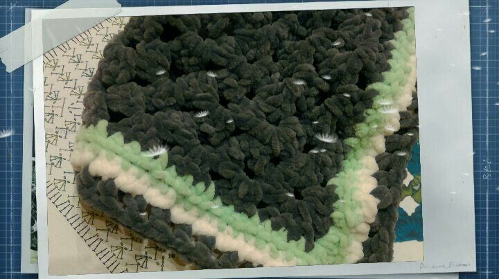 Triangle Crochet Scarf