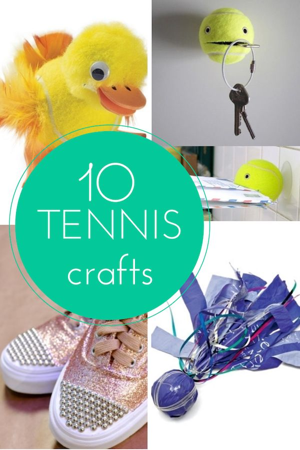 17 Best Ideas About Tennis Crafts On Pinterest Tennis