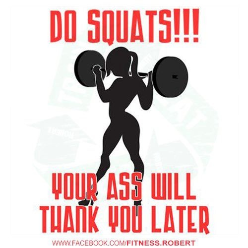 do squats! Buns of steel will be the result