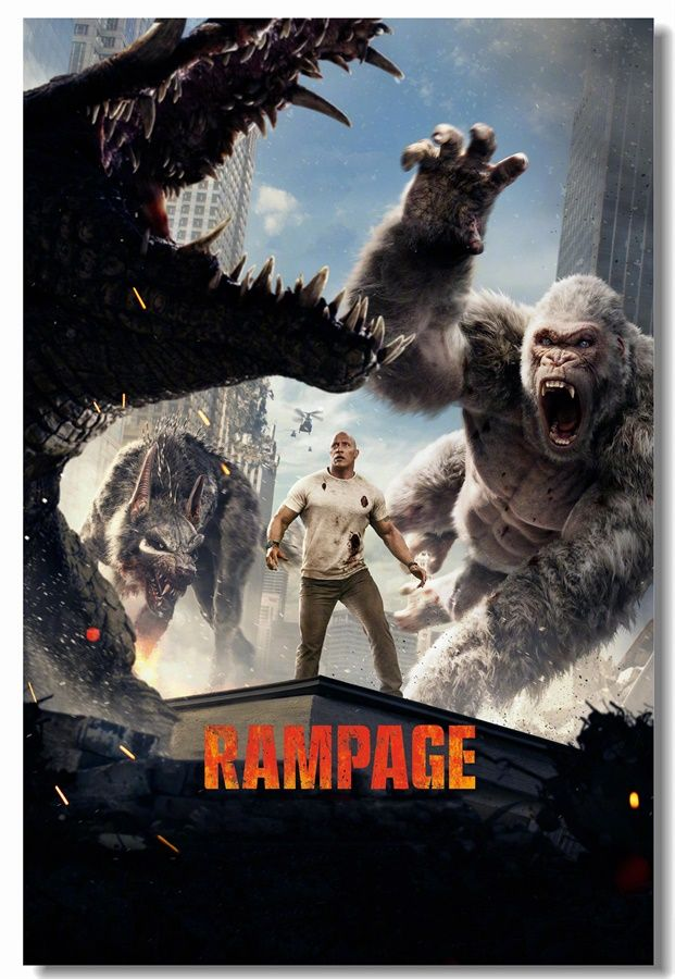 Watch Rampage 2018 Online Free Fmoviesarena Great Movie With
