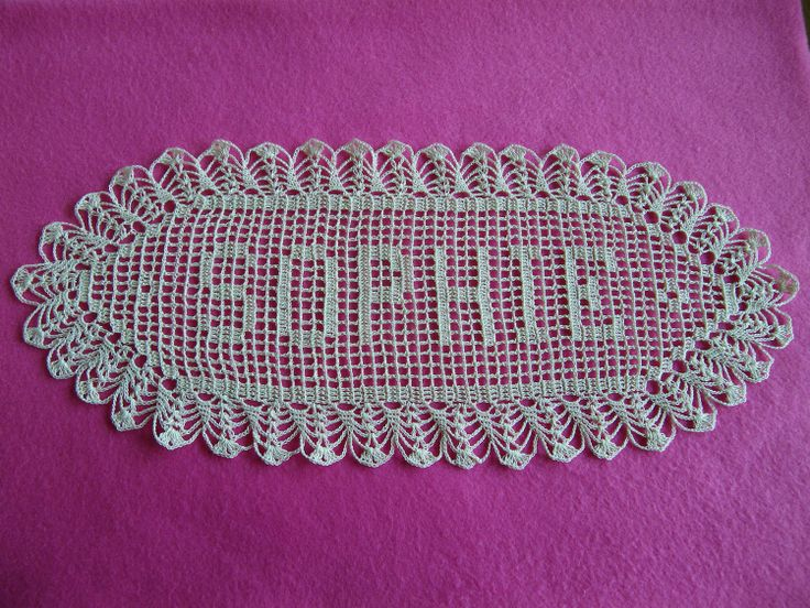 74 Best Crochet Images On Pinterest Knit Crochet Crochet Doilies