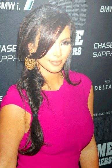 Kim K - love her hair & makeup