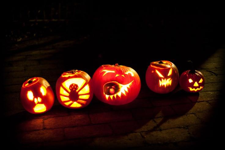 Our Halloween pumpkins