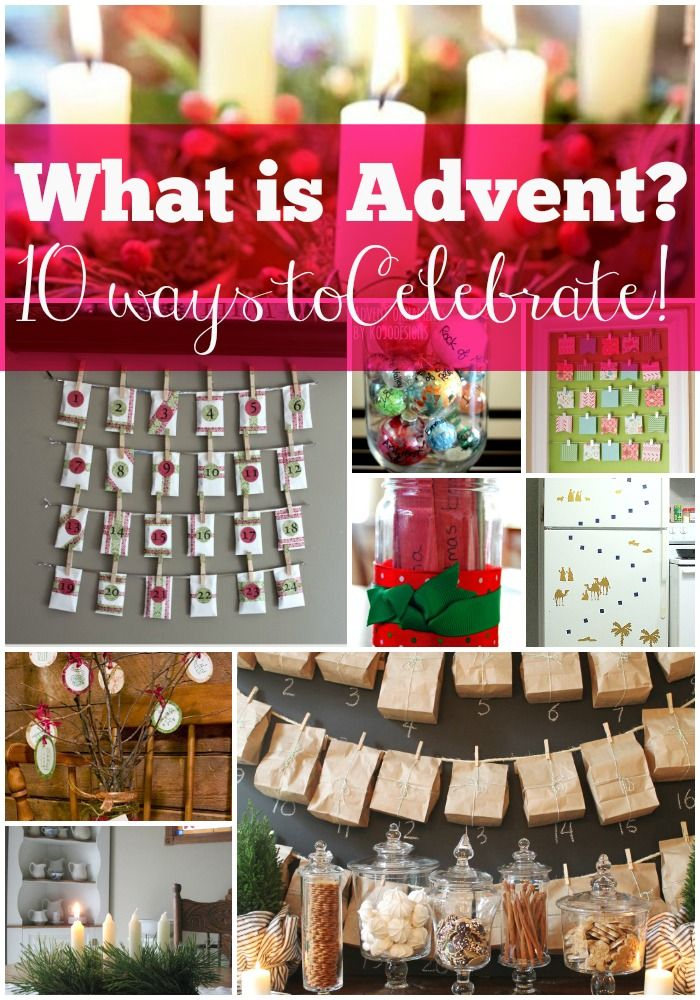 What is Advent? A simple explanation about what Advent is and 10 fun ways to celebrate it.  I didn't know what Advent was for a long time!  No shame in that!