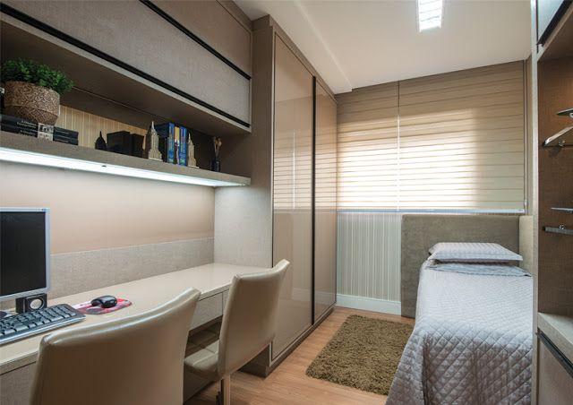 DecaZa Design : Home Office e Quarto de Hospedes uma combinação pe...