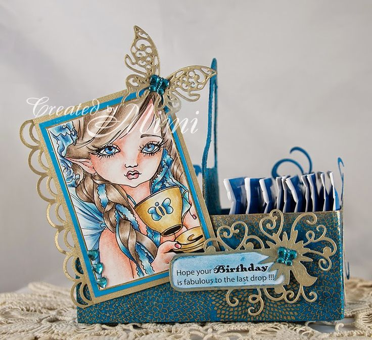using Fairy Tea Party by Katerina Koukiotis