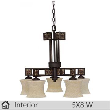 Lustra iluminat decorativ interior Klausen, gama Ida, model nr5