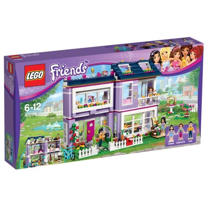 41095 la maison demma de lego friends 706 pices fille a