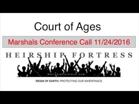 Ecclesia: Marshals conference call 11/24/2016 (full, raw, unedited)