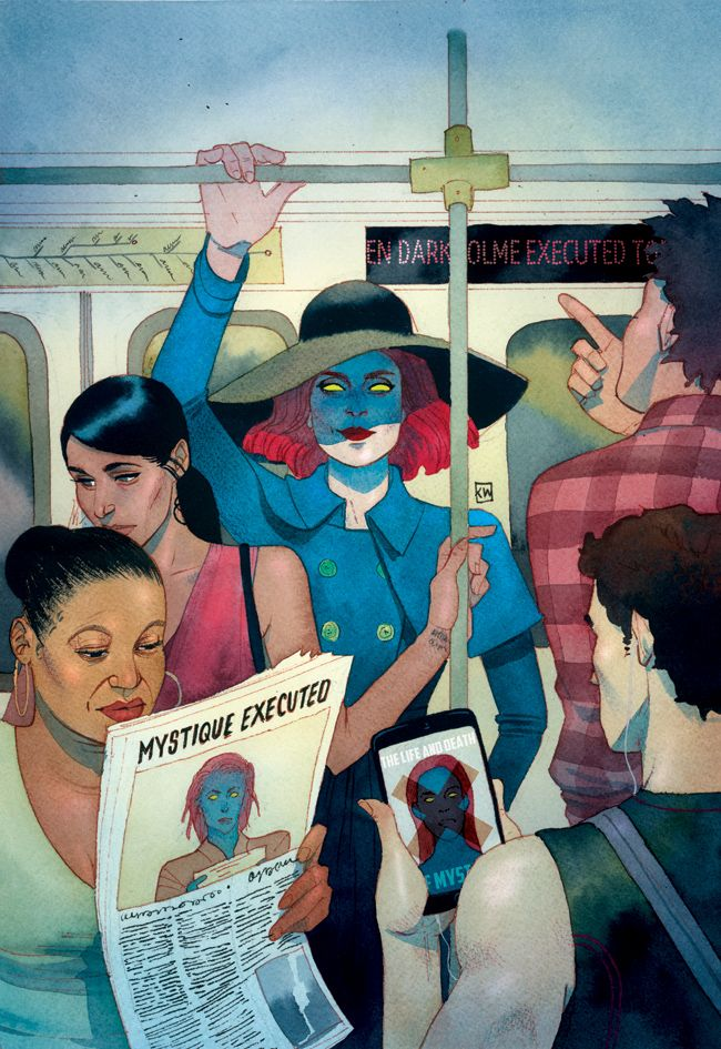kevin wada illustration : Captain America : Steve Rogers Issue 3 Death of X... - http://j.mp/298dNyk
