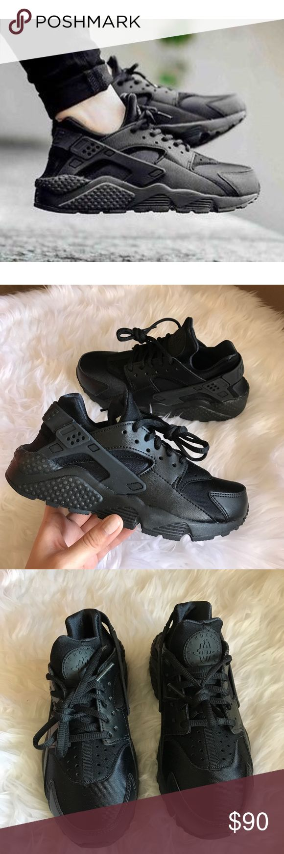 d09a2352af668 ... NIB NIKE grey pink Huarache Run GS ~ 5Y 6.5-7W brand new OFFER ME⚡ Nike  Air Huarache Run Triple Black Brand new with the box but ...