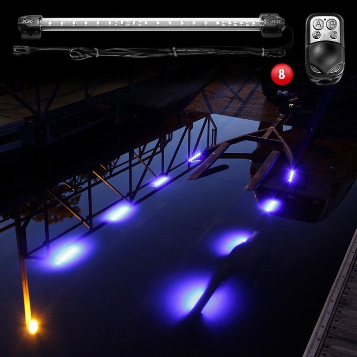 XKGlow® - Boat Trailer Docking Multi Color LED Light Kit With Remote Control