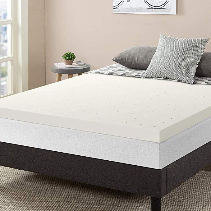 Best Price Mattress 3 Premium Ventilated Memory Foam Mattress Topper Queen Review Queen Mattress Topper Memory Foam Bed Topper Mattress