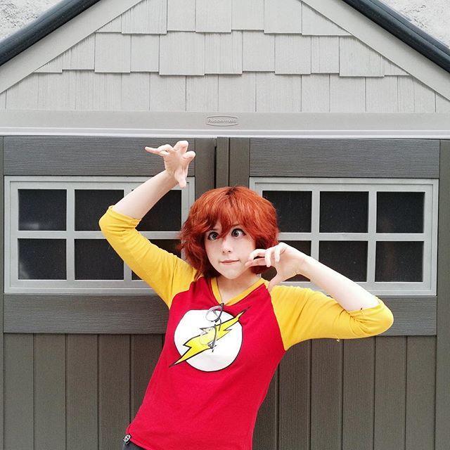 Oh, Hii~✨ Oye! El próximo Domingo, 4 de Junio, estaremos mis niños de @quepariocom y yo como invitados a la TNT de la Ciudad de México! (Y ya casi es mi cumpleaños) ¿vas a ir? #girl #redhead #redhair #flash #instagood #kawaii #anime #model #japan • pikore.co