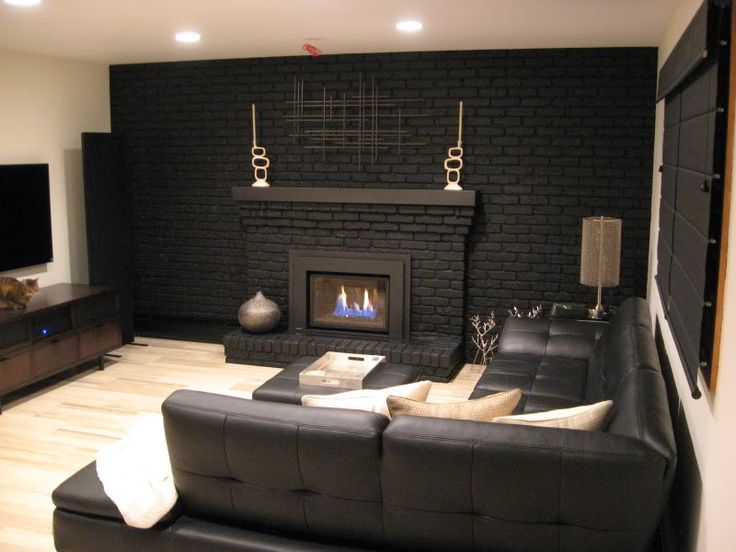 Black Interior Paint best 20+ painted brick walls ideas on pinterest | how to whitewash