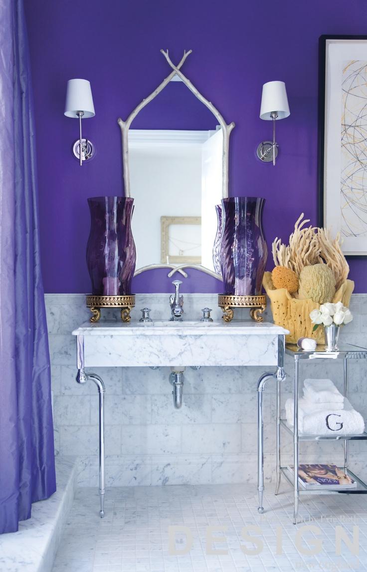 72 best purple bathrooms images on pinterest | purple bathrooms