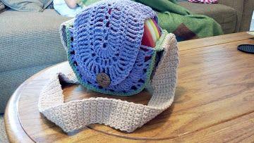 Crochet Disc Golf Bag