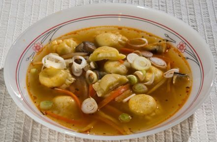Olasz zöldségleves magyarul