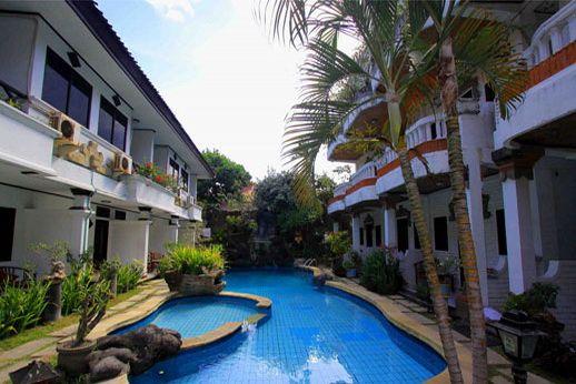 Pilihan hotel di wilayah pesisir pantai Kuta, lengkap dengan tarif sewa kamar termurah, alamat dan nomor telepon hotel untuk memudahkan anda yang ingin ke Bali.