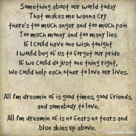 All I'm Dreamin' Of by Black Stone Cherry