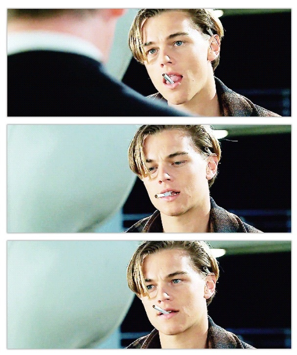 Leo as Jack Dawson. My favorite.