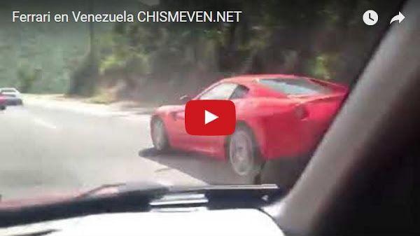 Vistos varios Ferraris circulando por las calles del país