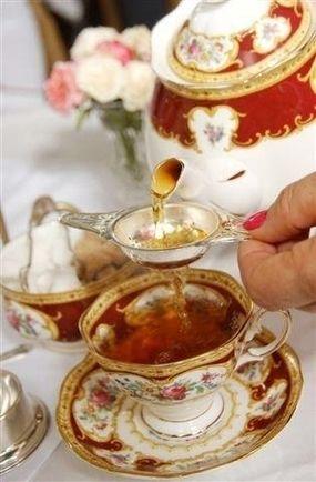 teatime.quenalbertini: It's tea time!