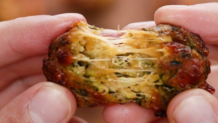 Zucchini Tots Serves 5-6 INGREDIENTS Tots 4 medium-sized zucchini ¾ cup bread…