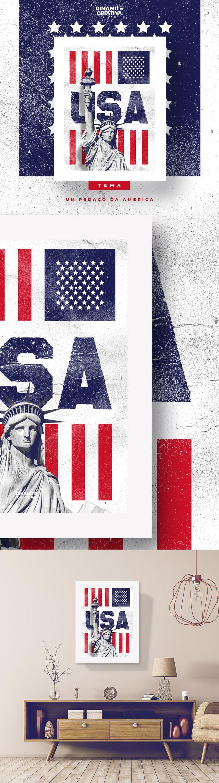Um pedacinho da América