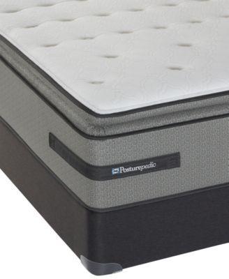 Sealy Posturepedic Plus Knotty Pines Cushion Firm Pillowtop Full Mattress Set   macys.com