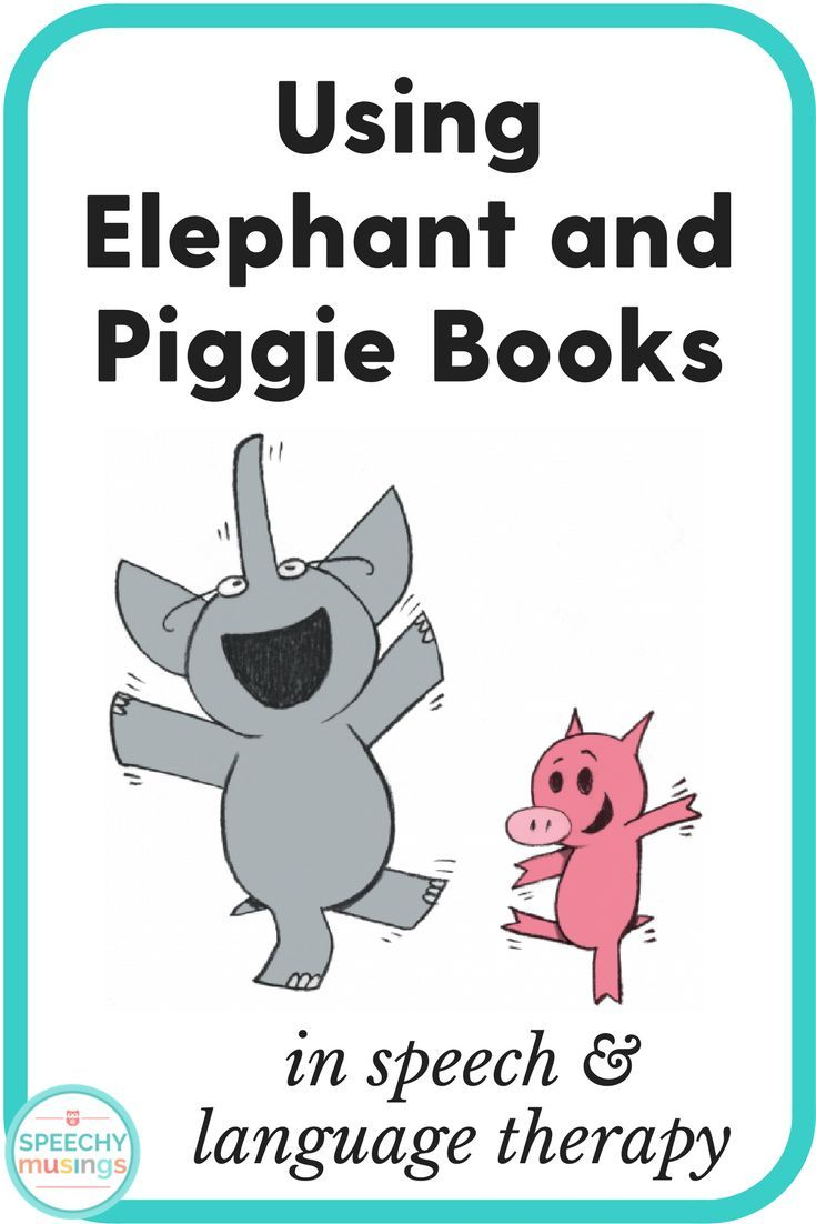 Using Elephant and Piggie books in speech and language therapy. Couple of great activity ideas and visuals! From Speechy Musings.