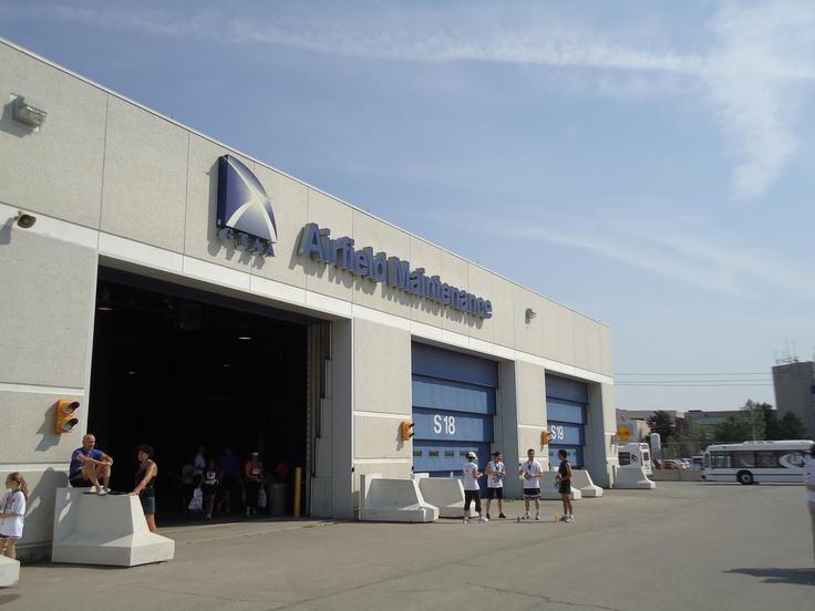 Richards Wilcox Hangar Doors  Pearson Airport  YYC  Greater Toronto Airport    sales@wilcoxdoor.com